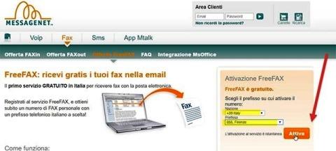 2262f0271d messagenet.com / invia e ricevi fax via Internet (a pagamento)