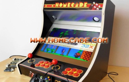 Sala Giochi Anni 80 : Homecade vecchi arcade da sala giochi a casa tua